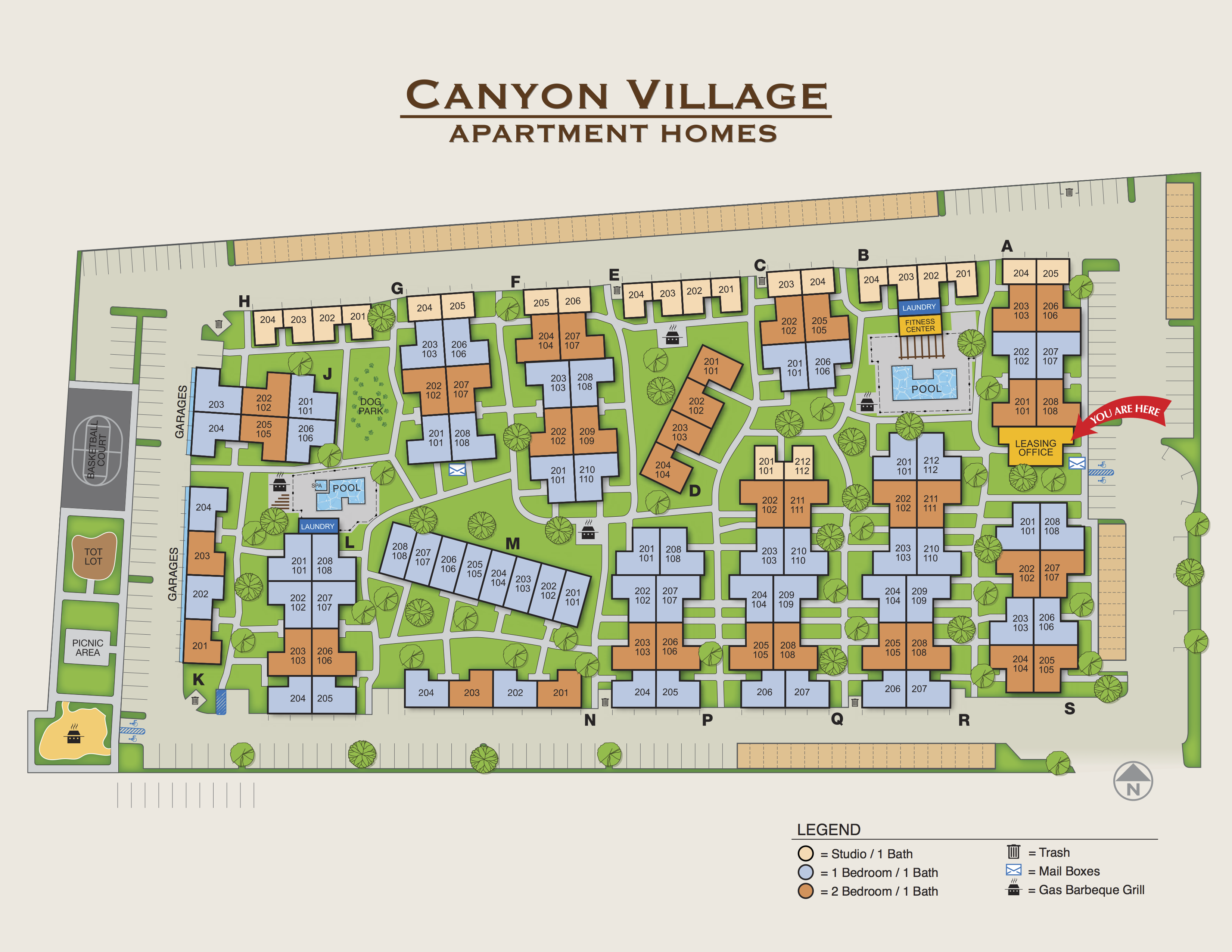 Canyon Village Apartment Homes